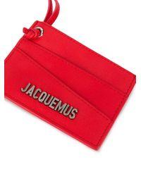 メンズ Jacquemus カードケース Red