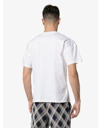 メンズ Jil Sander ロゴ Tシャツ White