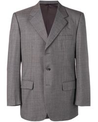Burberry Pre-Owned Gray 1990