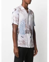 メンズ AllSaints プリント シャツ Multicolor