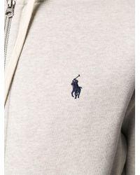 メンズ Polo Ralph Lauren Polo Pony ジップパーカー Gray