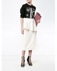 Stella McCartney ラッフルスカート White