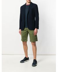 Entre Amis - Green Cargo Shorts for Men - Lyst