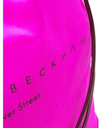 Victoria Beckham ロゴ ショルダーバッグ Pink