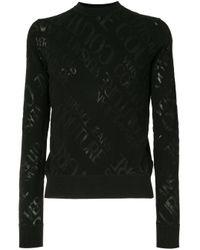 Maglione leggero di Versace Jeans in Black da Uomo