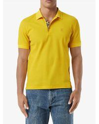メンズ Burberry Tbモチーフ ポロシャツ Yellow