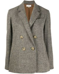 Blazer doppiopetto di Vince in Gray