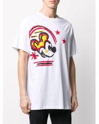 Camiseta Mickey Mouse Iceberg de hombre de color White