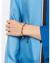 Ileana Makri - Metallic Jingle Bell Chain Bracelet - Lyst