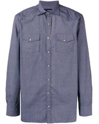 Рубашка С Цветочным Принтом Lardini для него, цвет: Multicolor