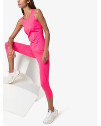 Adidas By Stella McCartney メッシュパネル タンクトップ Pink