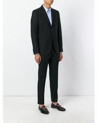 メンズ Gucci クラシック ツーピース スーツ Black