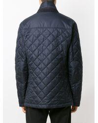 メンズ Dolce & Gabbana ロゴエンブロイダリー ジャケット Blue