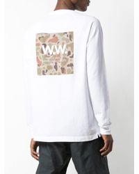 メンズ WOOD WOOD Han Tシャツ White