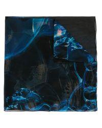 Discord Yohji Yamamoto Bubble スカーフ Blue