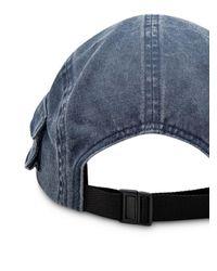 Supreme Blue Snap Pocket Camp Cap