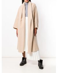 Cappotto lungo di Max Mara Atelier in Natural