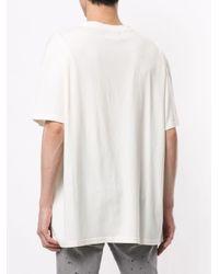 メンズ Represent ロゴ Tシャツ White