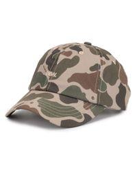 Cappello da baseball con stampa camouflage di WOOD WOOD in Multicolor da Uomo