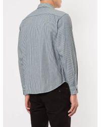 Supreme Blue Pin Up Work Shirt for men