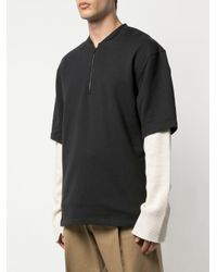 Sudadera con media cremallera Fear Of God de hombre de color Black