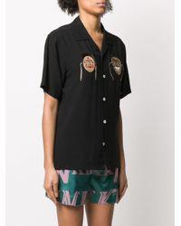 Kirin オーバーサイズカラー シャツ Black