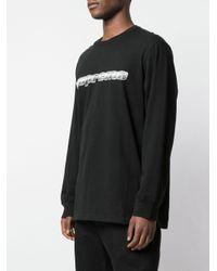 Supreme Black Chrome Logo-print T-shirt for men
