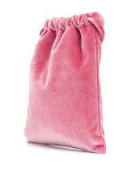 Giada Benincasa ドローストリング ハンドバッグ Pink