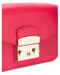 Furla Red - Metropolis Crossbody Bag - Women - Leather - One Size