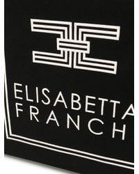 Borsa tote di Elisabetta Franchi in Black