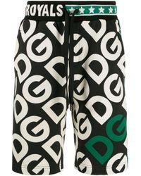 Шорты-бермуды С Логотипом Dolce & Gabbana для него, цвет: Black