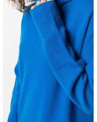 Chinti & Parker カシミア リブセーター Blue