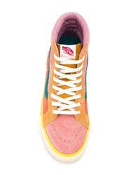 Zapatillas SK8-hi Vans de color Pink