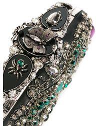 Клатч С Вышивкой Alexander McQueen, цвет: Multicolor