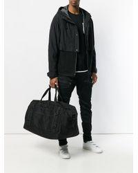 White Mountaineering Black Cordura Boston Holdall Bag for men
