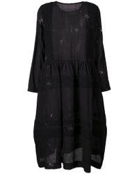 Uma Wang Black Woven Detail Dress