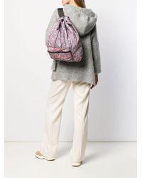 Adidas By Stella McCartney Rugtas Met Print in het Red
