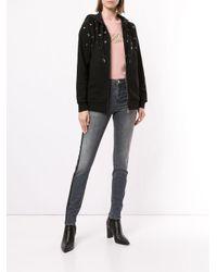 Худи С Люверсами Karl Lagerfeld, цвет: Black