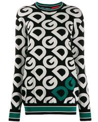 Dolce & Gabbana ロゴ パーカー Black