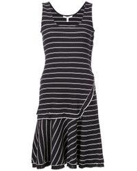 Layered Tank Dress di 10 Crosby Derek Lam in Black