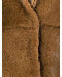 Manzoni 24 Natural Sleeveless Fur Jacket