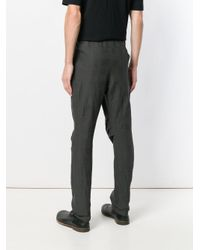 DEVOA Gray Jodhpurs Trousers for men