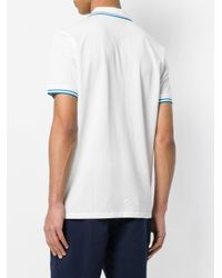 PS by Paul Smith - White Zebra Logo Polo Shirt for Men - Lyst