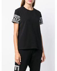 KENZO ロゴ スリーブ Tシャツ Black