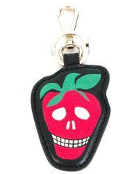Paul Smith - Black Strawberry Skull Keyring - Lyst