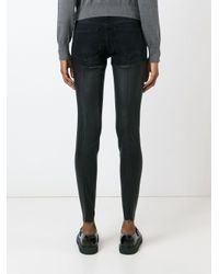 R13 Black Kombo aus Shorts und Legging