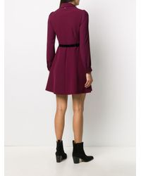 Blumarine ボウタイ ドレス Red
