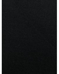 Écharpe à bords francs Faliero Sarti en coloris Black