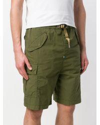 White Sand - Green Double Pocket Cargo Shorts for Men - Lyst