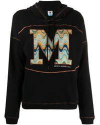 Худи В Технике Пэчворк С Логотипом M Missoni, цвет: Black